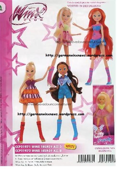 Winx Staffel 5 Puppen Alltags Klamotten Casual